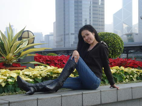 Filipino women in boots
